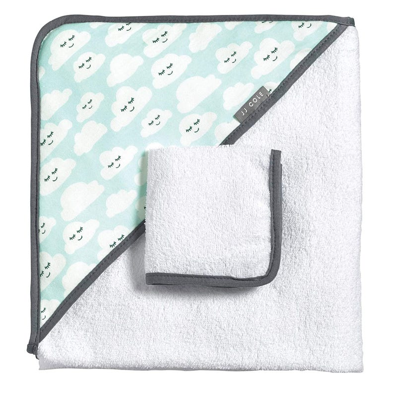 Hooded Towel Set - Cloud