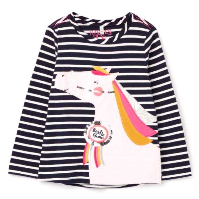 Ava Unicorn T-Shirt 3-8