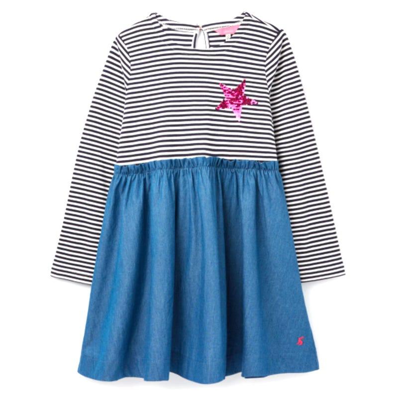 Hampton Denim Dress 3-8