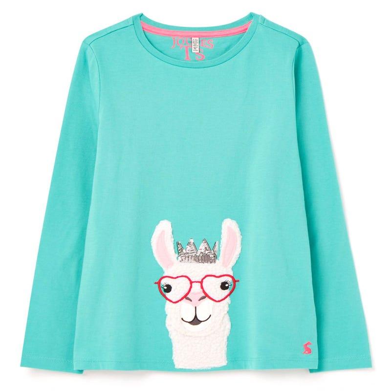 T-shirt Ava Llama 3-8ans