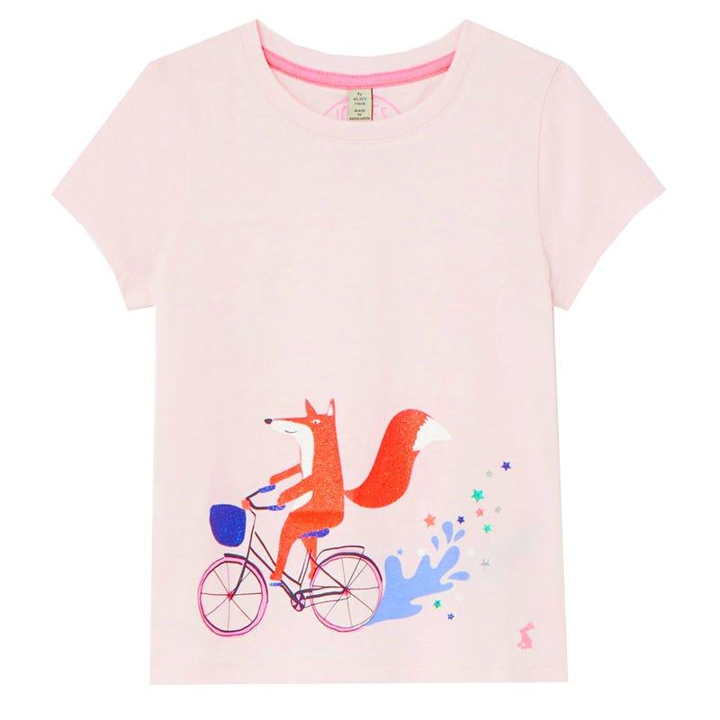 T-shirt Floral 3-8ans