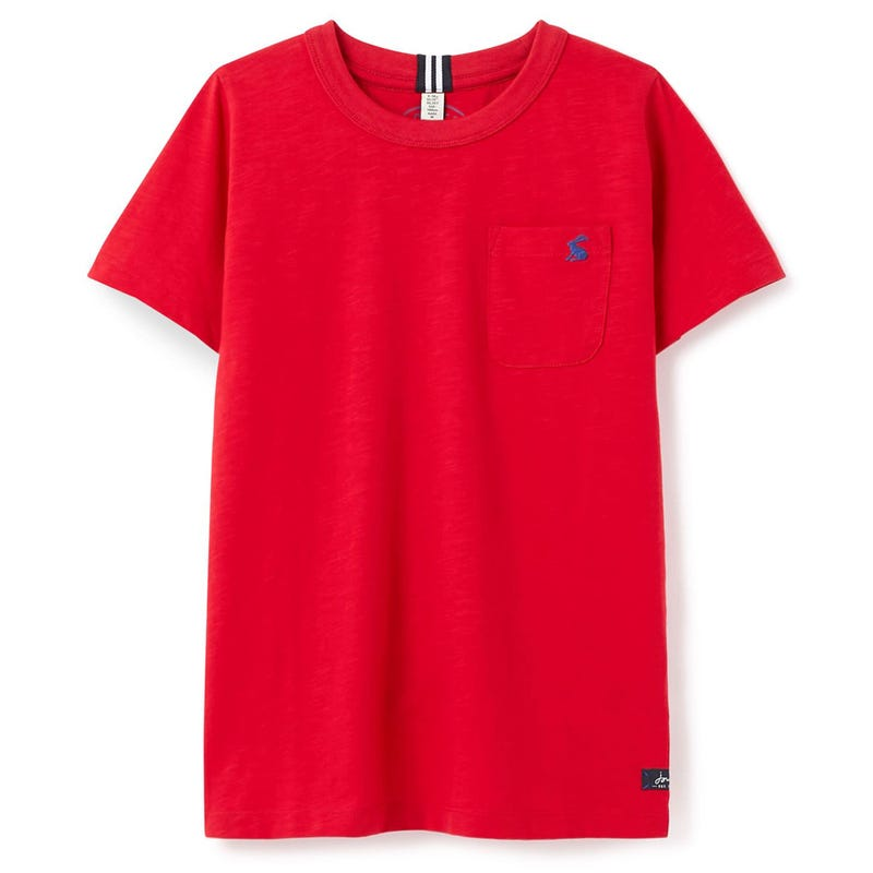T-shirt Rouge Nautique 3-8ans