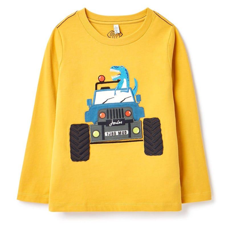 Chomp DinoTruck T-Shirt 3-8y