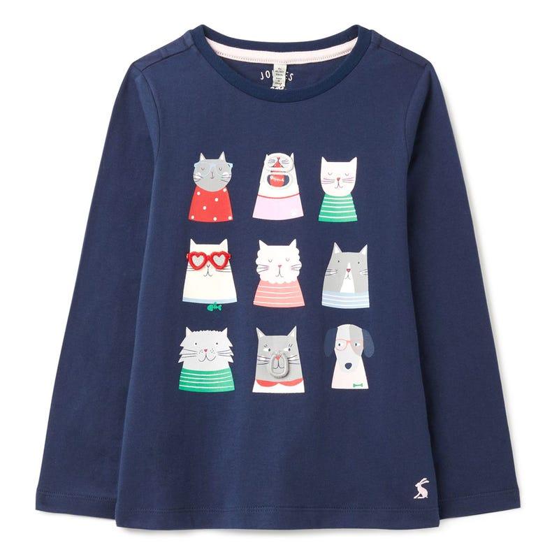 T-Shirt Chat Chomp 3-8ans