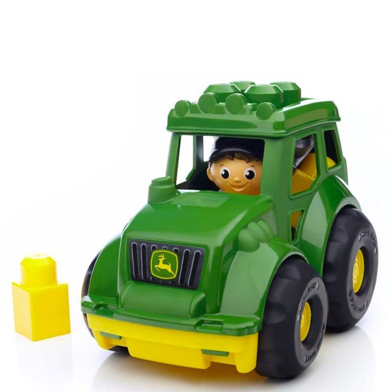 Mega Block John Deere Tractor