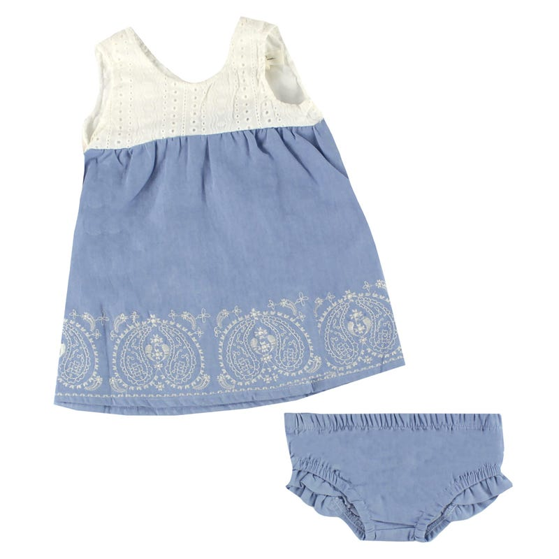 Robe S/M Broderie 12-24m