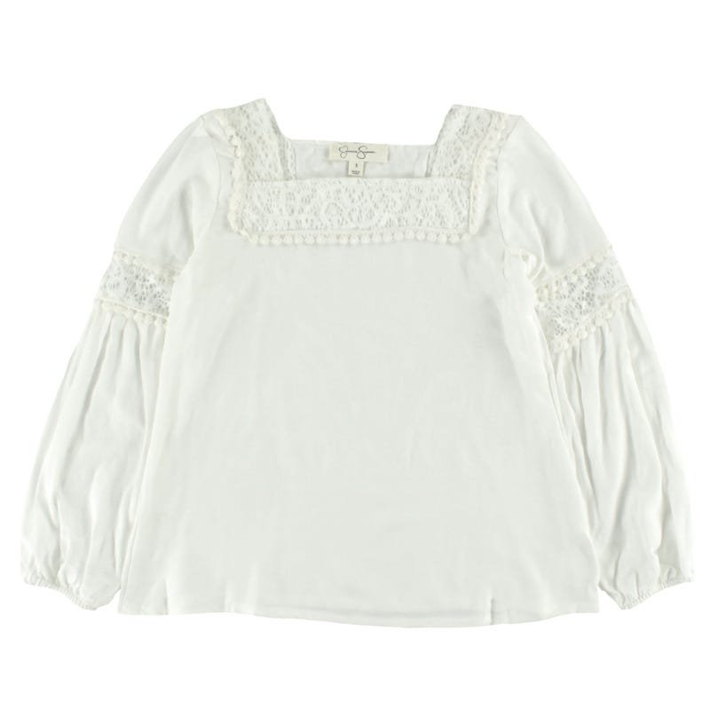 Long Sleeves T-Shirt Lace 7-16y