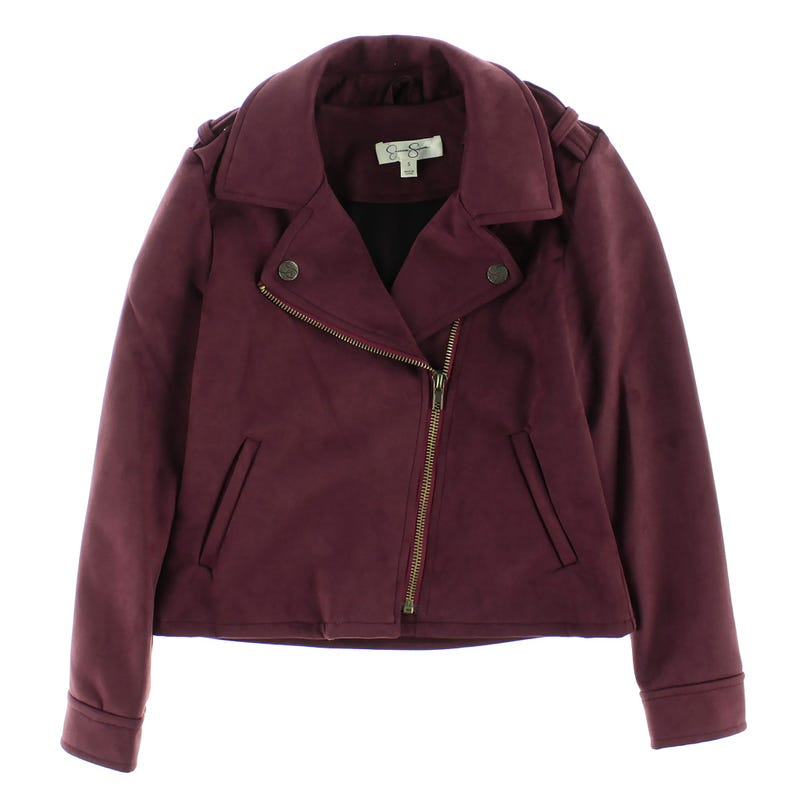 Girls Faux-Suede Jacket 7-16