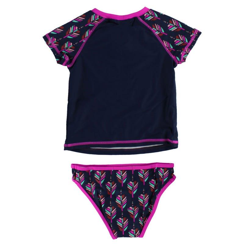 Dreamer 2PC UV Rashguard Swimsuit