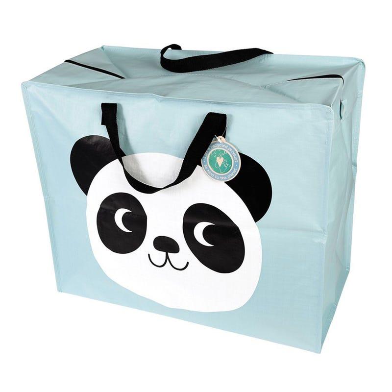 Sac de Rangement Panda - Turquoise