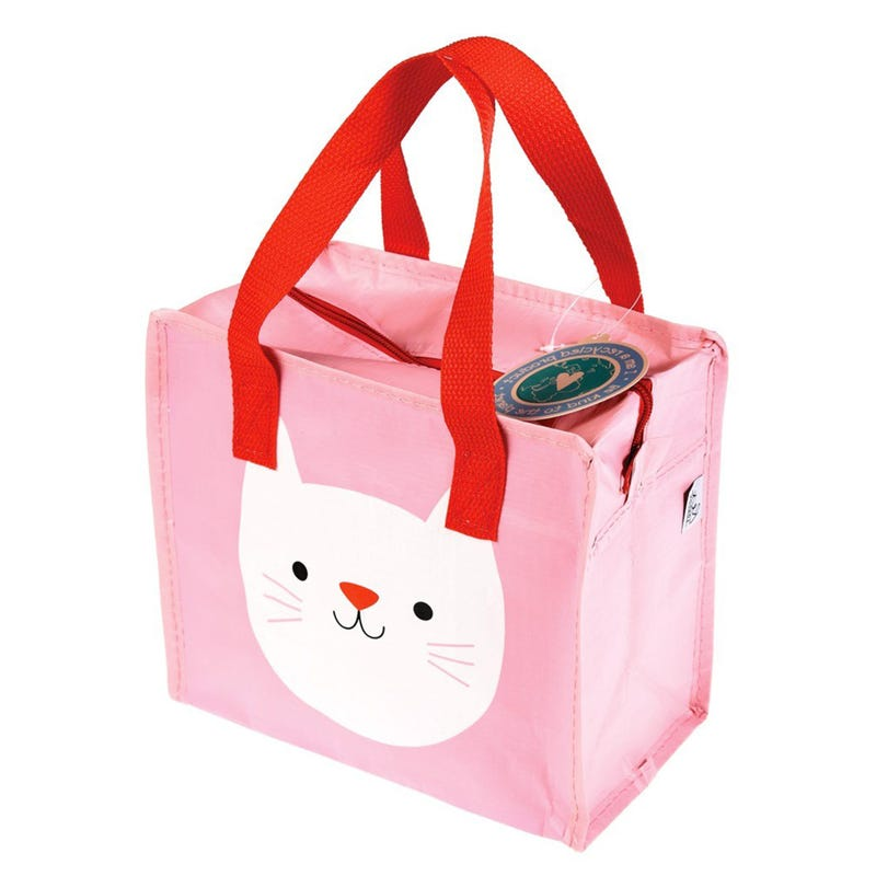 Bag Storage Cat - Pink