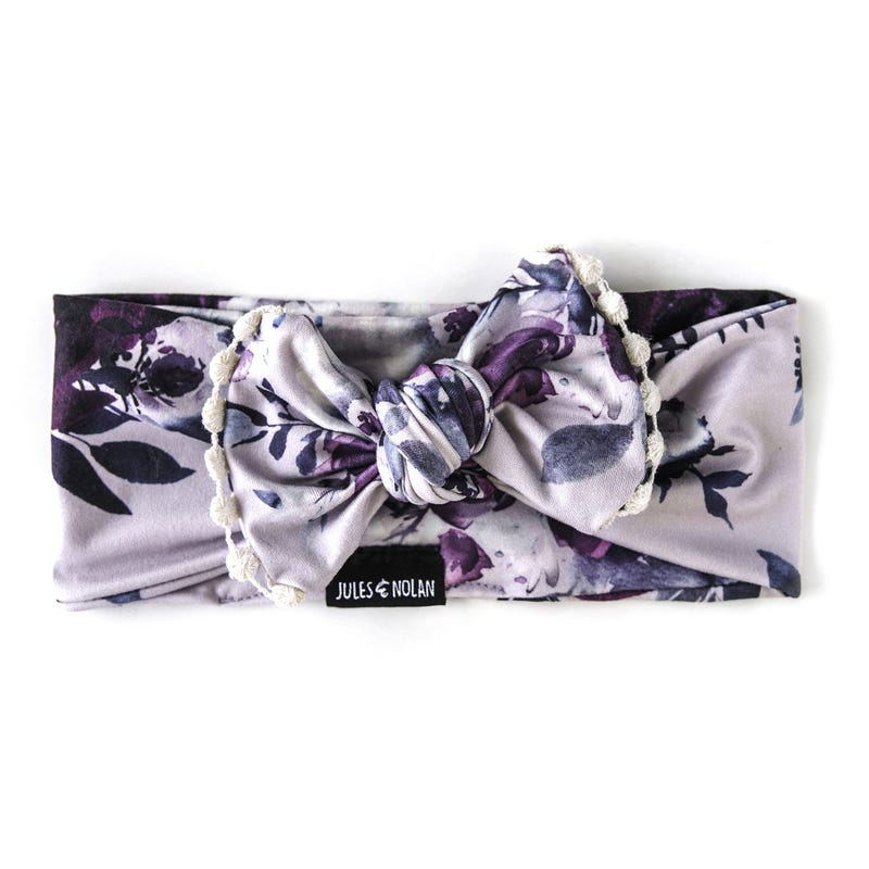 Floral Knot Headband 6-24m