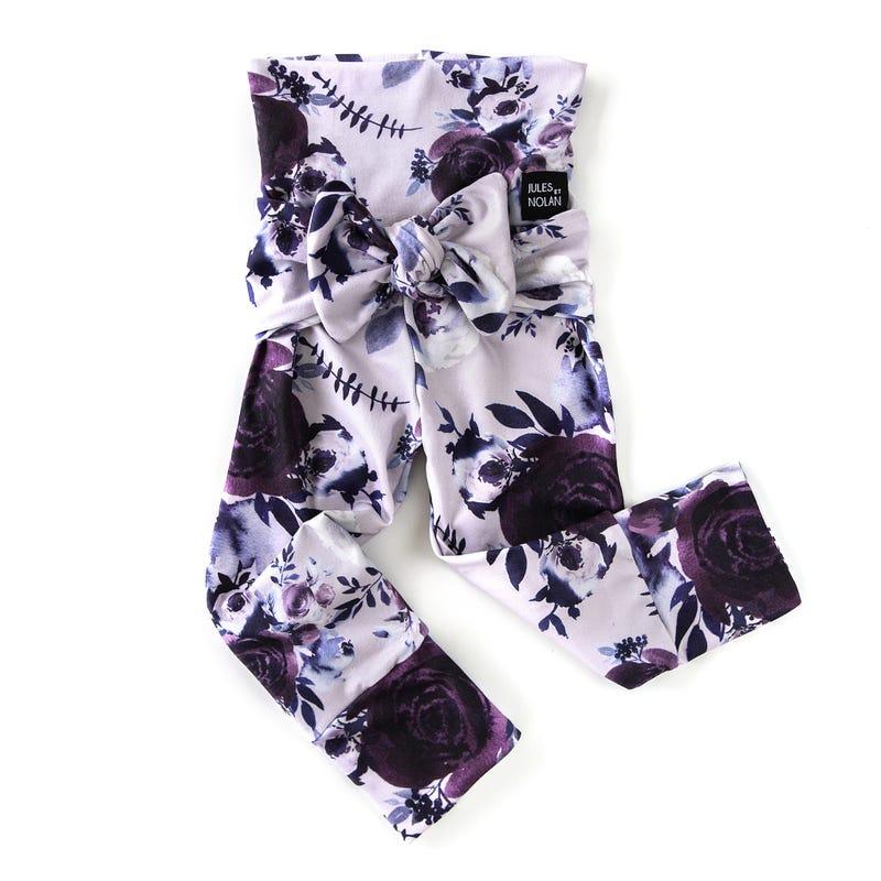 Pantalon Évolutif Floral 0-36mois