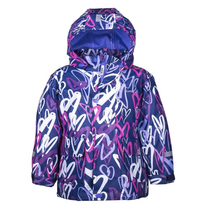Kamik Raincoat 2-8y - Heart