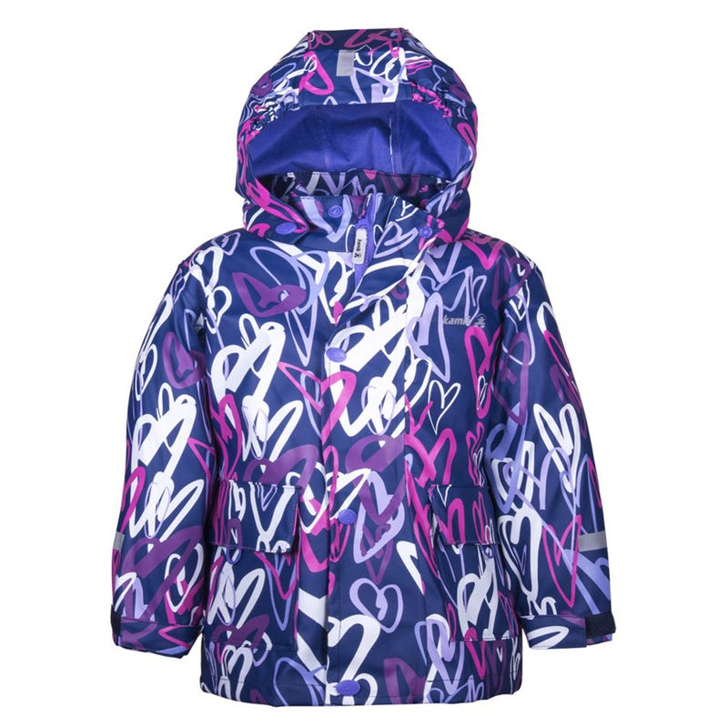 Kamik Raincoat 2-8y - Heart