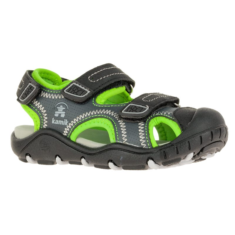 Seaturtle2 Sandals Sizes 11-5 - Black