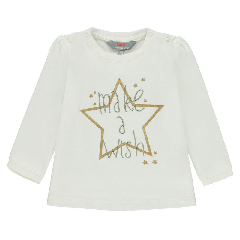 Wish Star Long Sleeve Shirt 6-18m