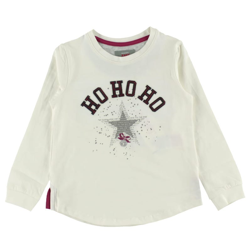 Christmas Long Sleeve Shirt 3-8y