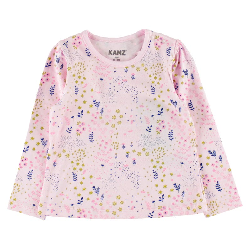 Flowers L/S T-Shirt 6-18m