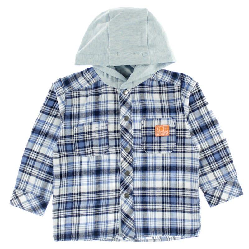 Icebears Hooded Shirt 6-18m