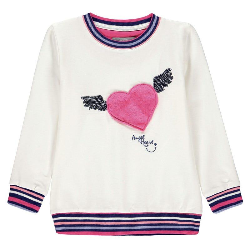 Heart Sweatshirt 3-8