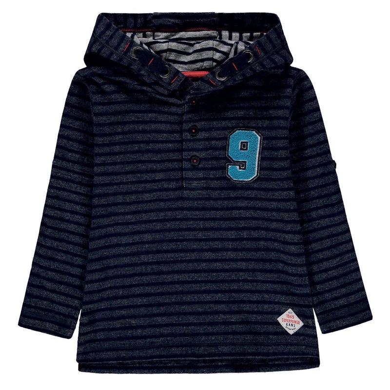 Power Hooded L/S T-Shirt 3-8
