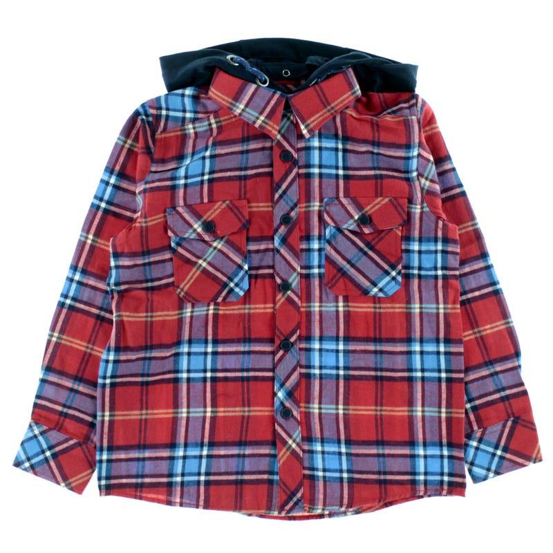 Power Hooded Shirt 3-8