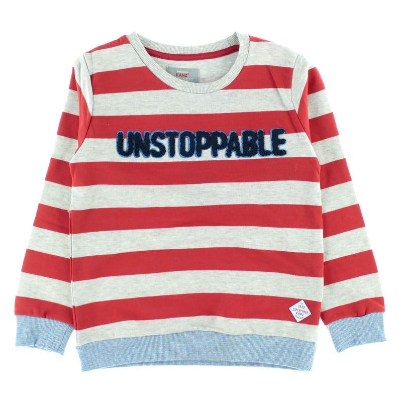 Power Stripes Sweatshirt 3-8