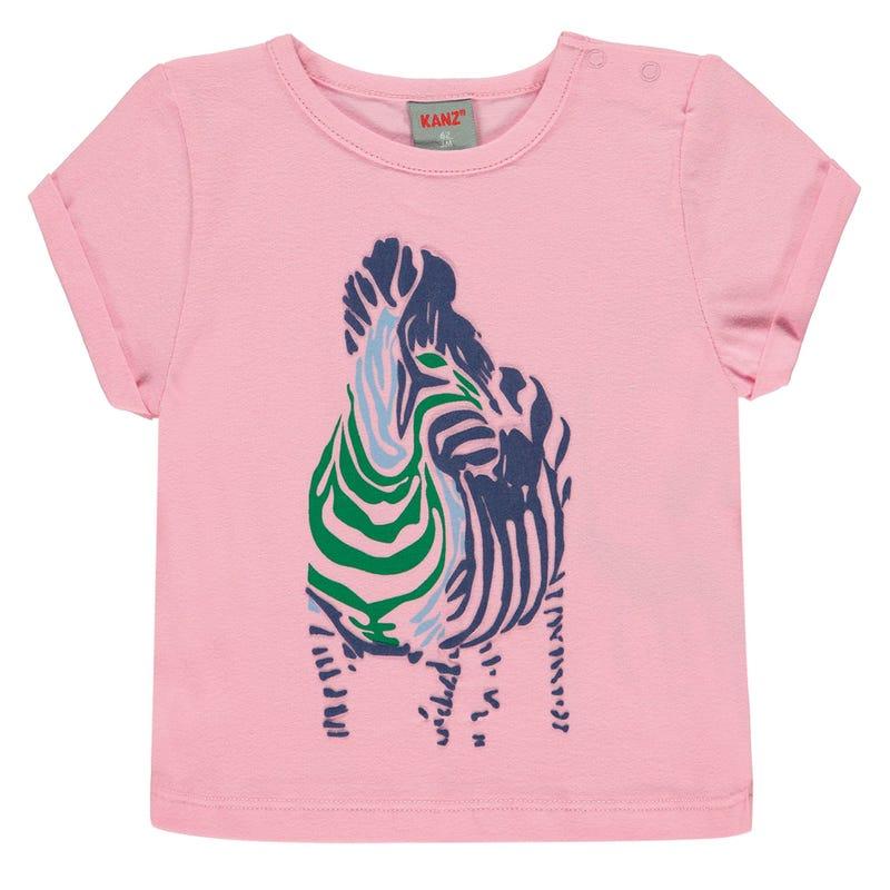 T-shirt Zèbre Jungle 6-18mois