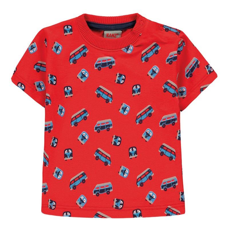T-shirt Imprimé Voyage 6-18mois