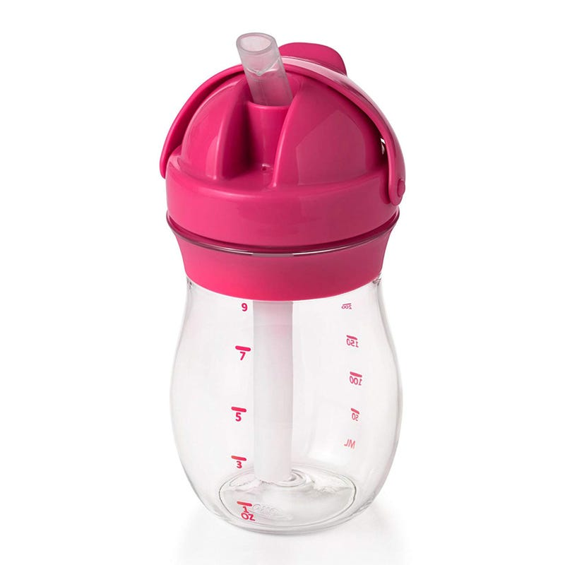 Transition Straw Cup 9oz- Pink