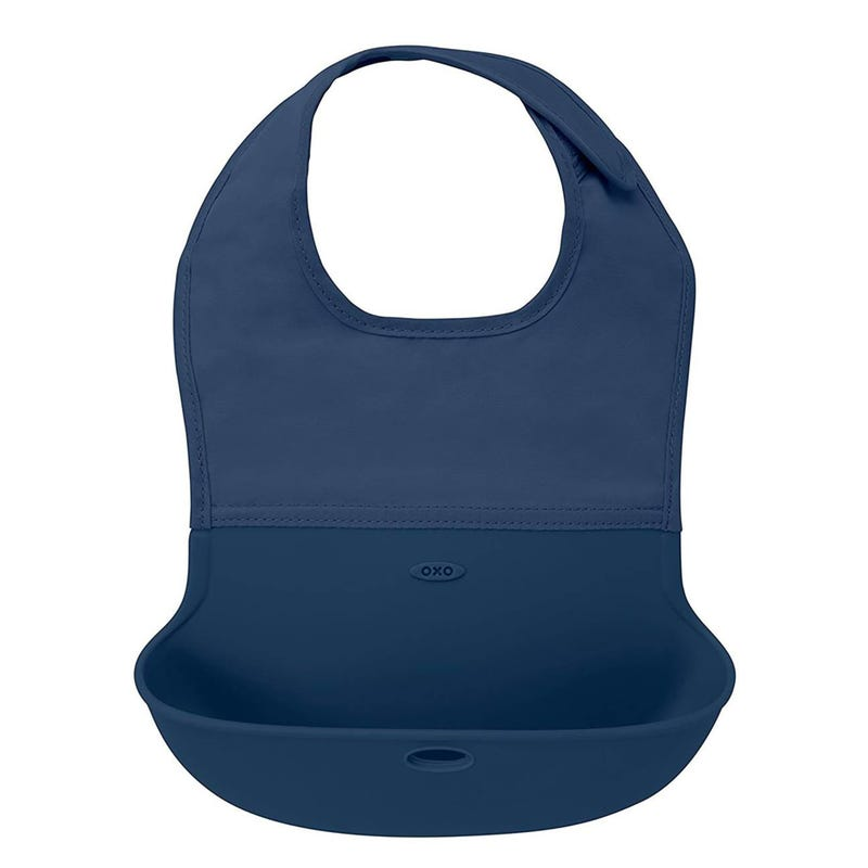 Roll-Up Bib - Navy