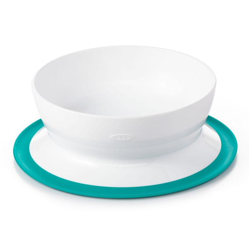 Teal Suction Bowl