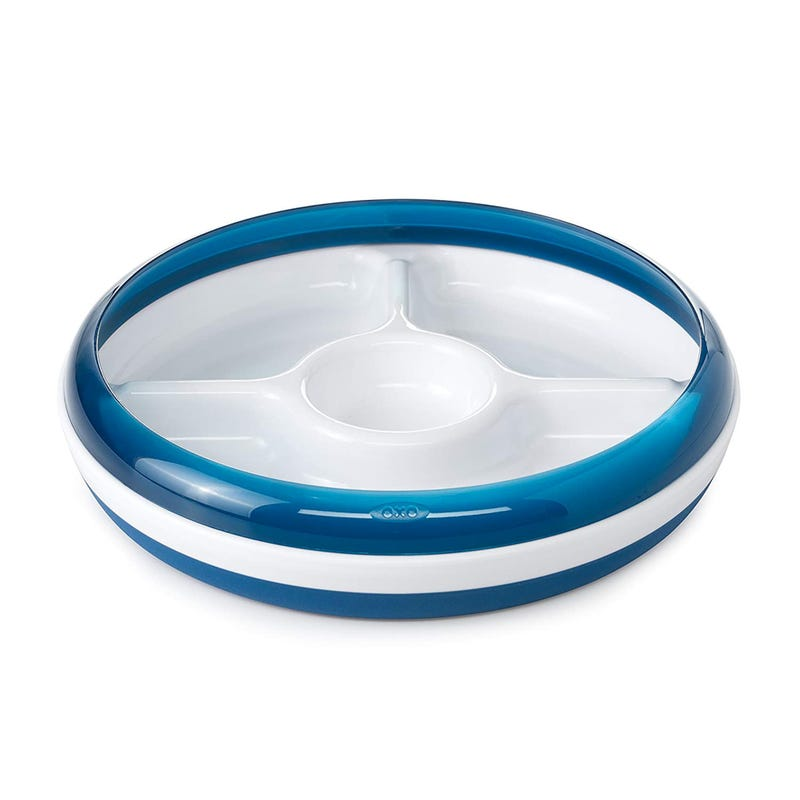 Assiette Compartiment OXO Tot  - Marine