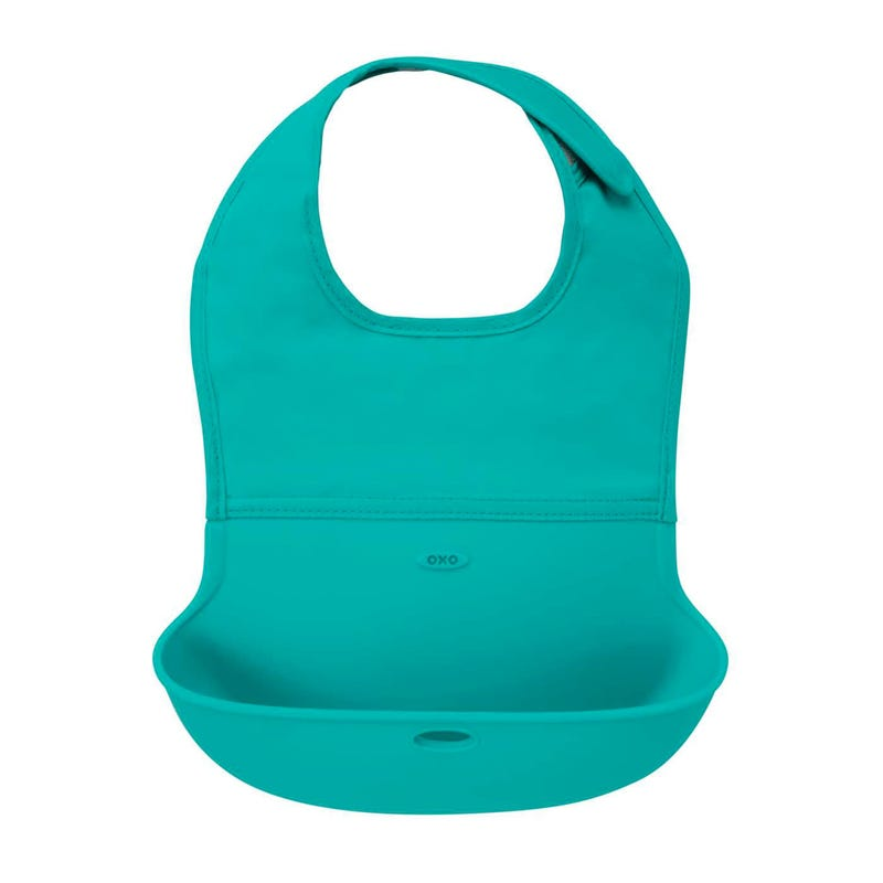 Roll-up Bib - Teal