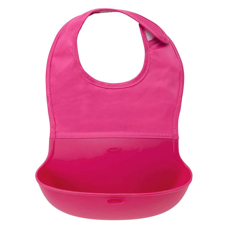 Roll-Up Bib - Pink