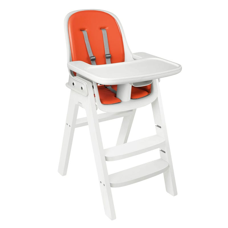 Chaise Haute Sprout OXO Tot  - Blanc / Orange