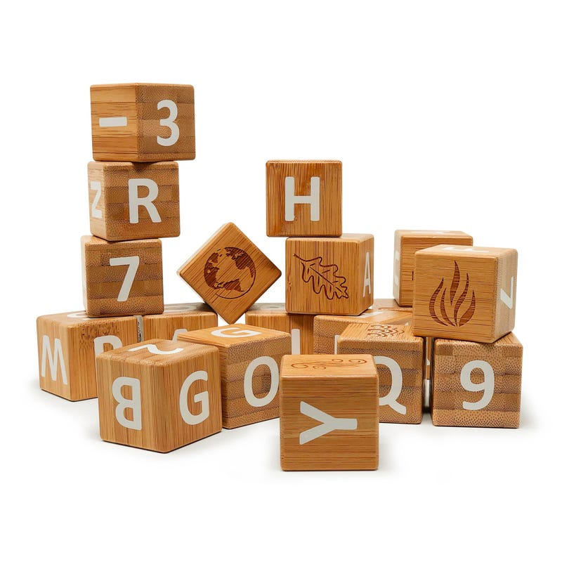 Bamboo Blocks - ABC