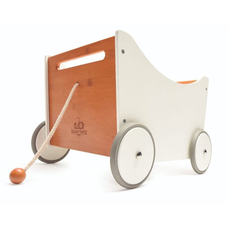 Toys Box 2-in-1 Walker - Wood