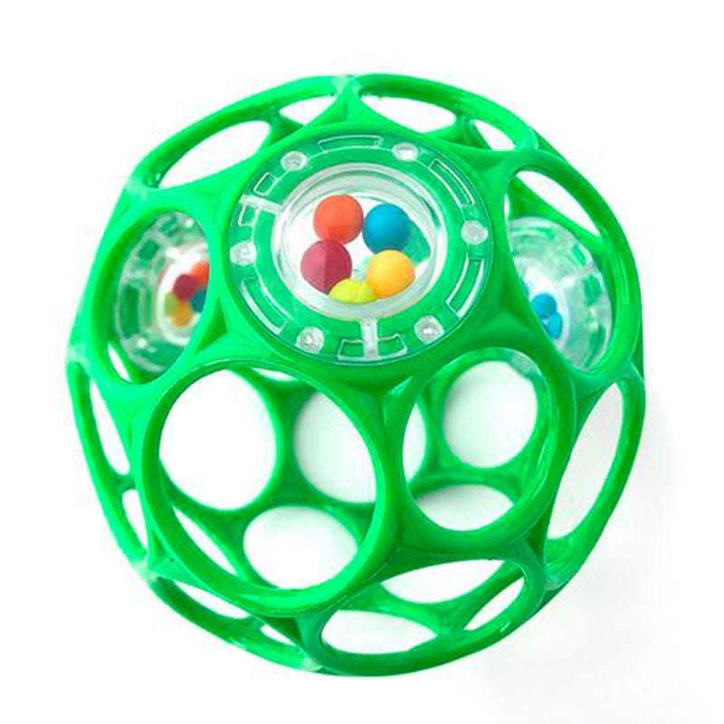 Oball Rattle - Green