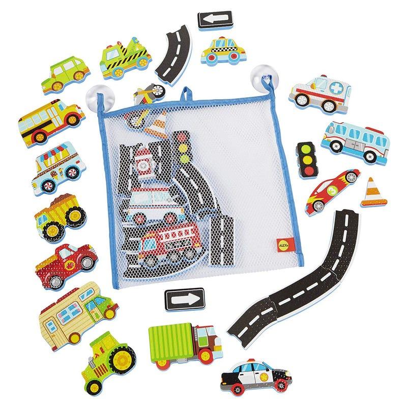 Vehicules Bath Set - Toys Beep Beep