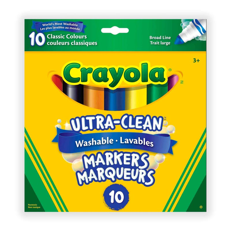 Ultra-Clean Washable Markers 10-Pack