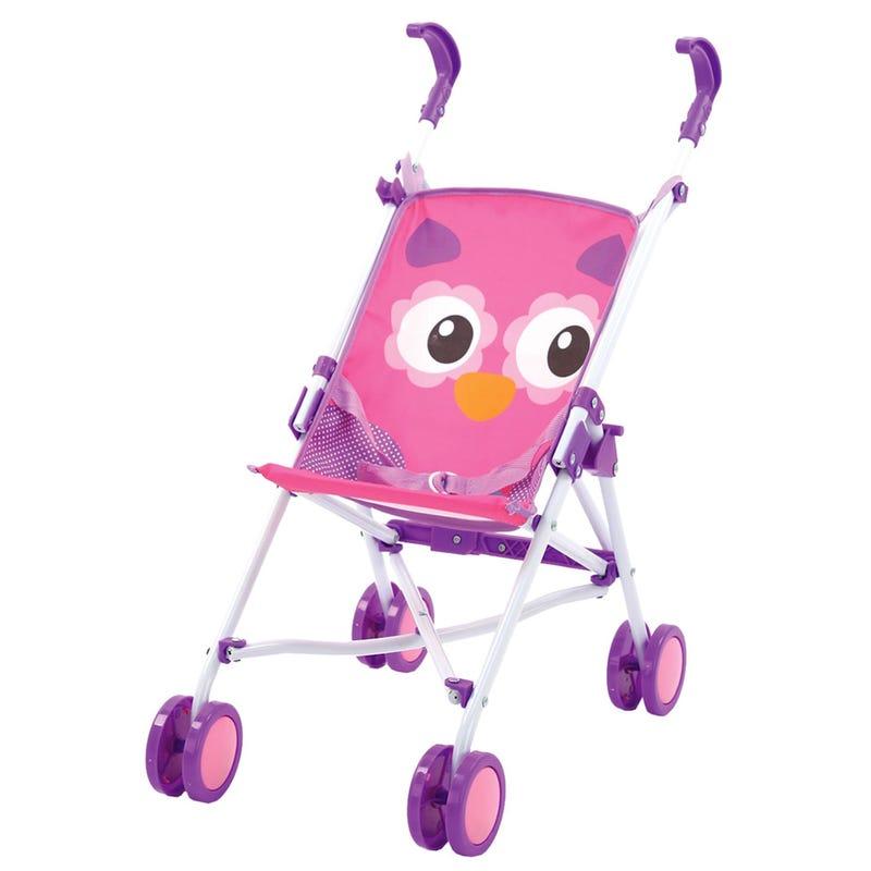 Doll Umbrella StrollerOwl - Purple