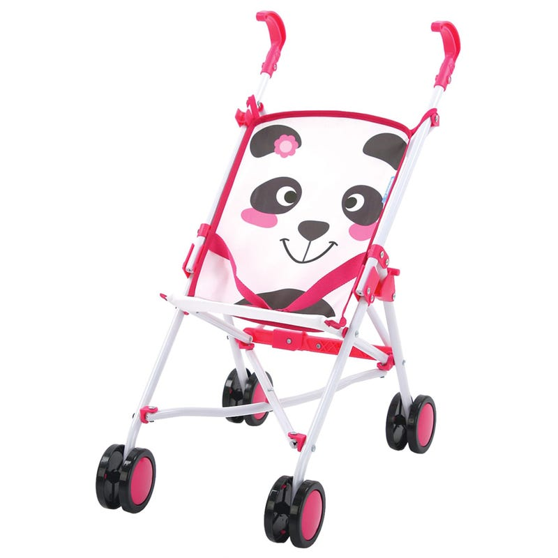 Doll Umbrella StrollerPanda - Pink
