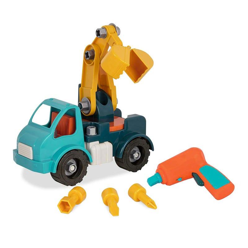 Take-Apart Crane Truck