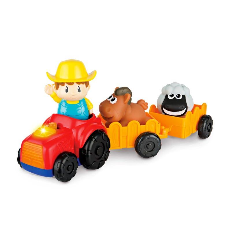 Tractor And Farmer Winfun