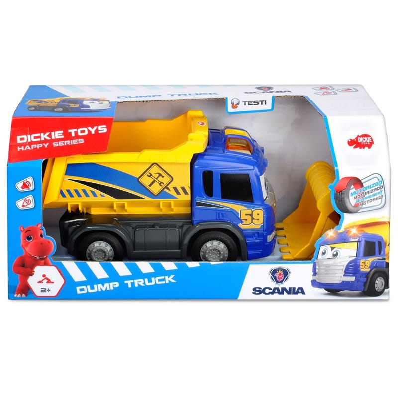 Dickie Happy Dump Truck Light and Sound