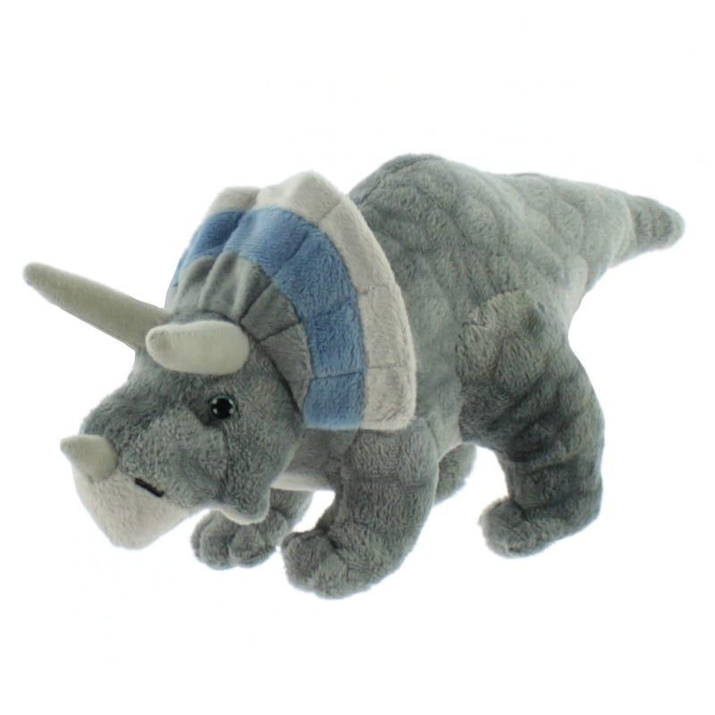 Peluche Dinosaure Tricératops - Gris
