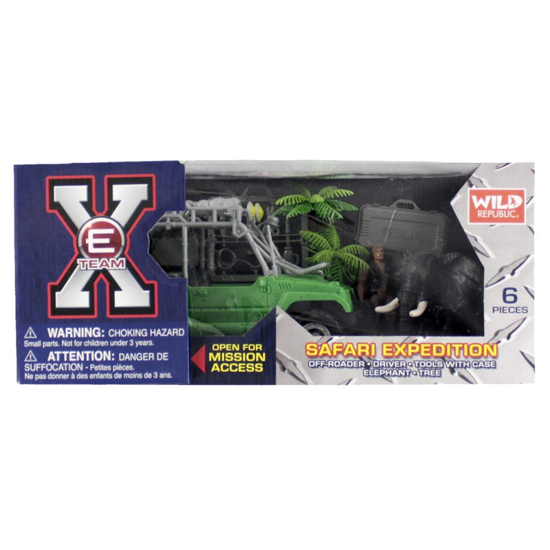 Truck and Elephant Toy Set