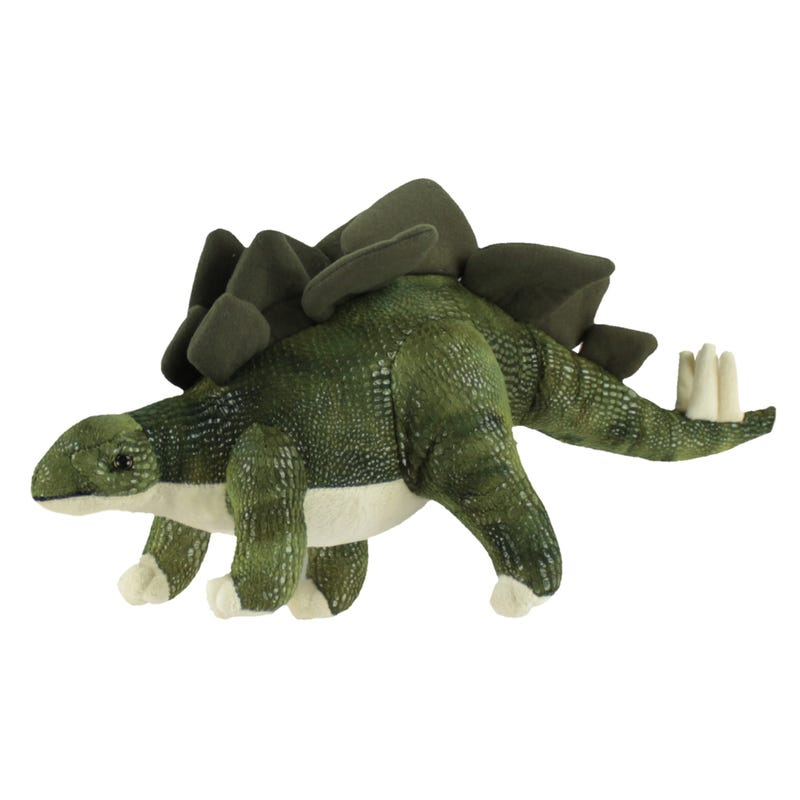 Plush Stegausorus Dinosaur  - Green